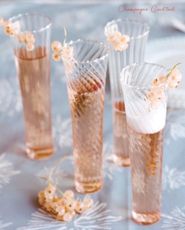 Cocktail champagne et cognac