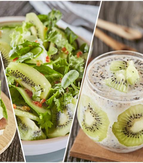 4 recettes au kiwi pour maîtriser sa faim