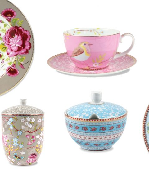 La collection de porcelaine florale Pip Studio