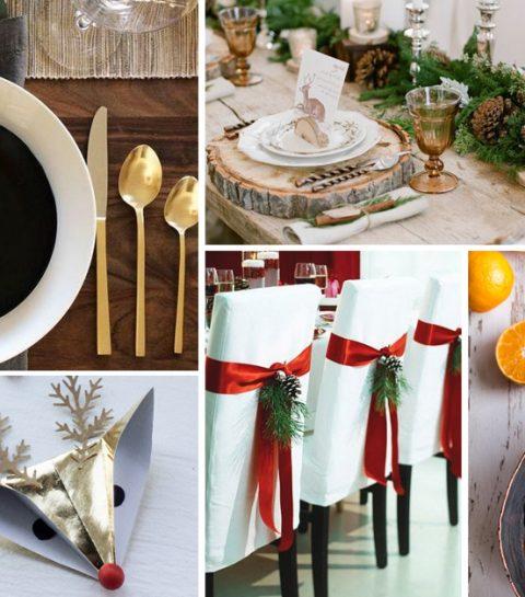 7 idées originales pour une table de Noël exceptionnelle