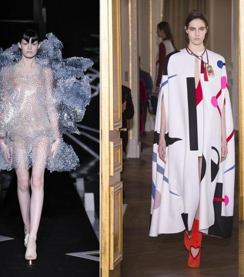 Paris Haute Couture : Schiaparelli et Iris Van Herpen, le choc de deux univers
