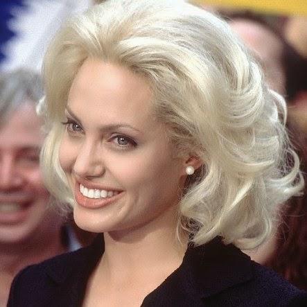 Angelina Jolie cheveux abimés soin pro chez le coiffeur