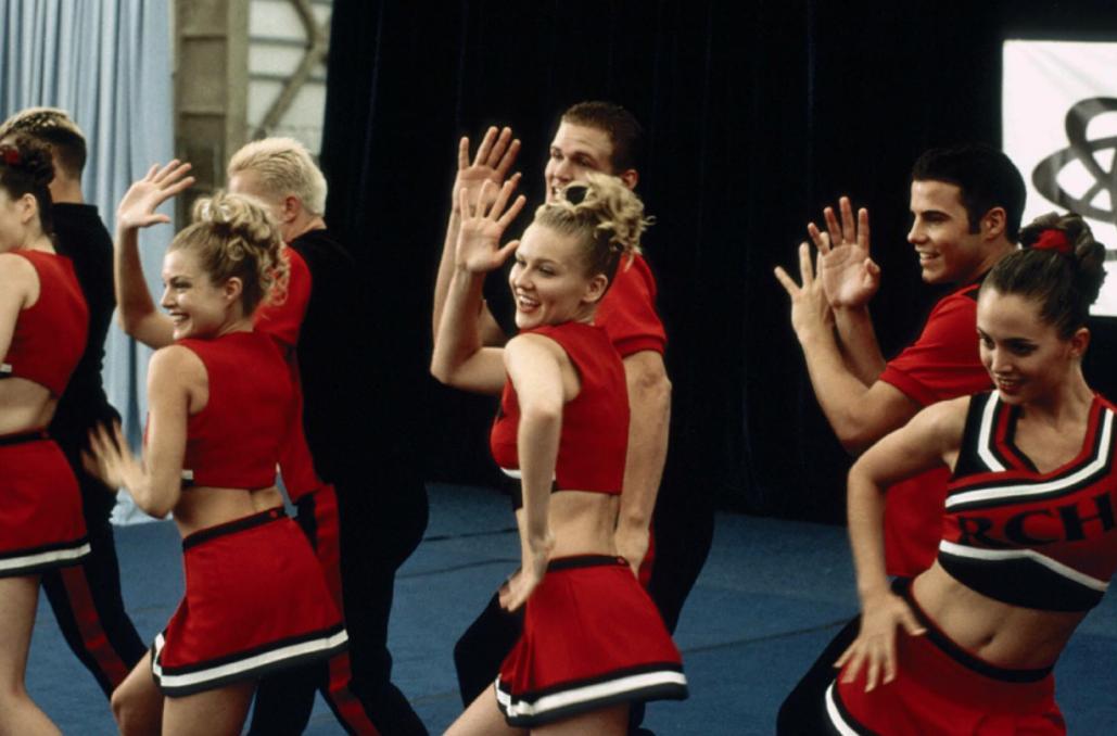 Le cheerleading. Pour être une cherrleadeuse digne de ce nom vous allez devoir courir, sauter, être constamment en mouvement. Flexion, extension, et fesses de bombe sont au programme.