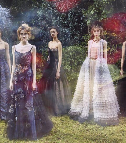 Le défilé et le bal masqué Haute Couture de Dior