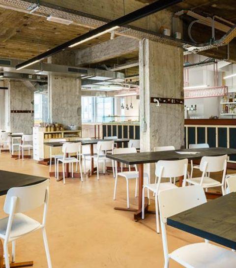 L'Architecte: la nouvelle cantine bruxelloise