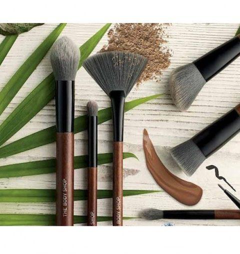 The Body Shop lance des pinceaux de maquillage vegan