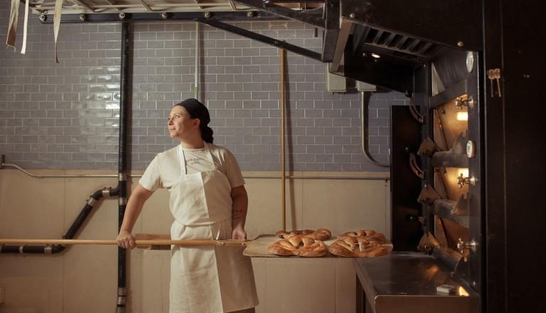 photo des fourneaux du Le pain quotidien
