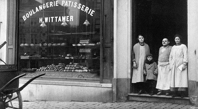 La vitrine de la boulangerie-pâtisserie Wittamer à Bruxelles