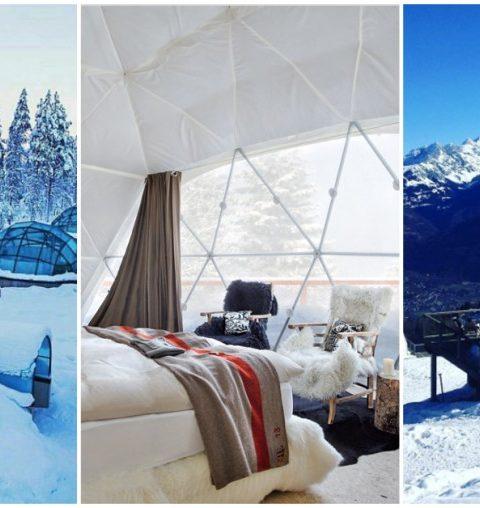 5 hotels bulles particuliers pour une nuit sous la neige