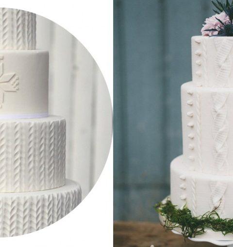 Les 6 plus beaux gâteaux pour un mariage en hiver