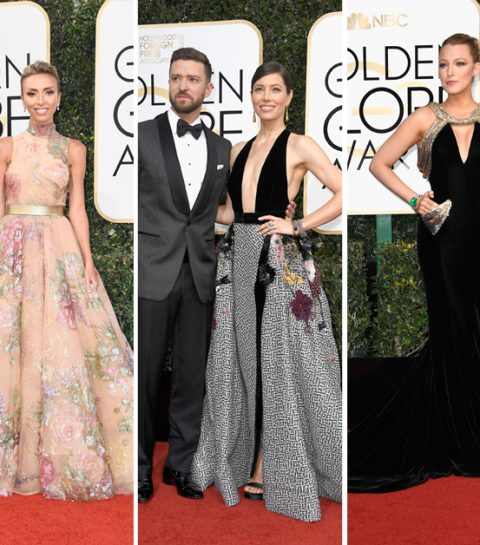 GOLDEN GLOBES 2017: LES 20 PLUS BEAUX LOOKS