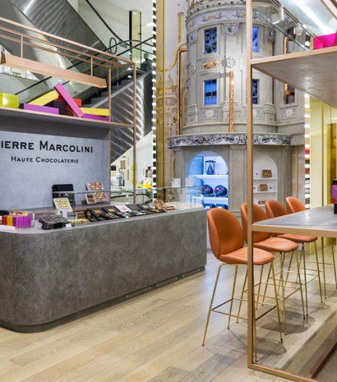 Pierre Marcolini ouvre son premier bar à chocolat