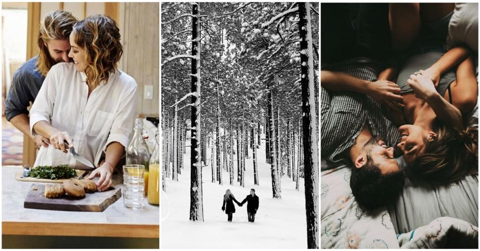 rendez-vous romantique hiver