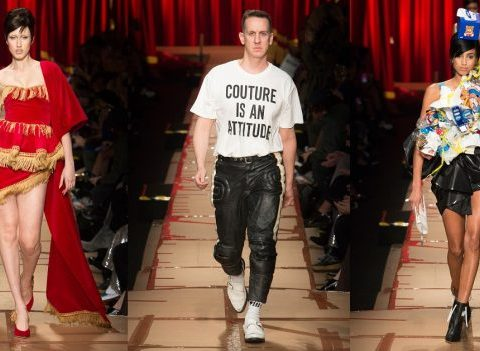 MFW : Moschino, le grand recyclage