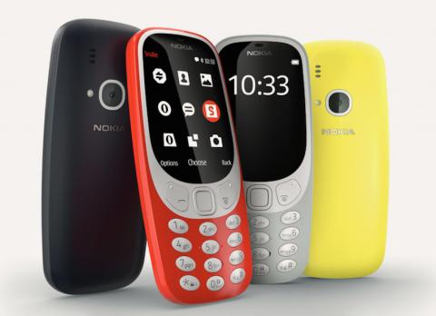 Nokia a dévoilé les images du nouveau 3310
