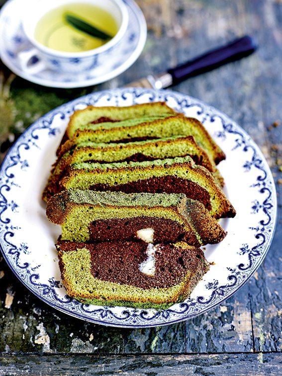Cake marbré (c) JC Amiel