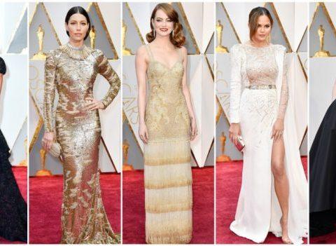 Oscars 2017: les plus beaux looks du tapis rouge
