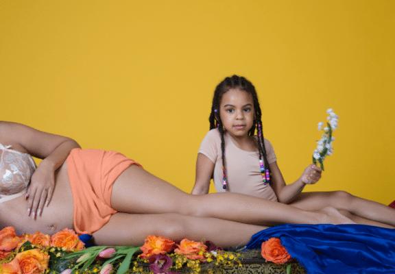 Beyoncé partage les photos de sa grossesse sur Internet