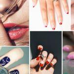 nails art saint-valentin
