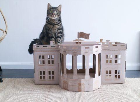 Où shopper des maisons pour chats chic et design ?
