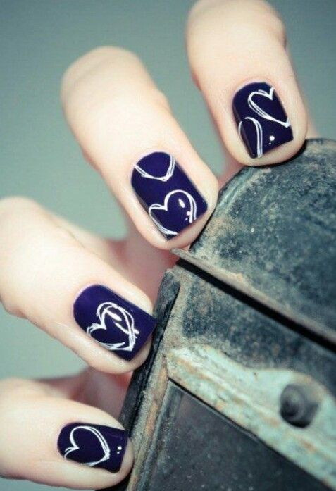 Le nail art abstrait