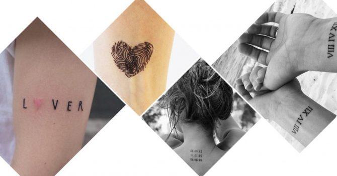 tatouages de saint valentin 25 id es inspirantes faire en couple. Black Bedroom Furniture Sets. Home Design Ideas