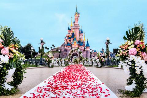 Il est désormais possible de se marier à DisneyLand Paris