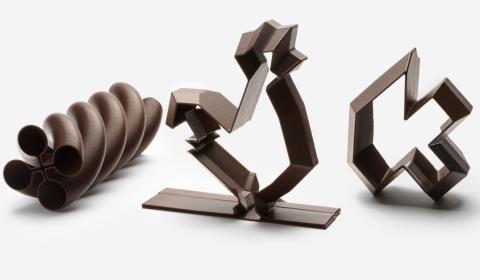 BUZZ : La Miam Factory imprime du chocolat en 3D