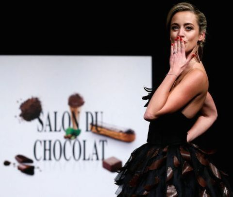 La collab' qui claque : Neuhaus et Natan créent une robe en chocolat