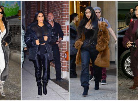 10 looks inspirants de Kim Kardashian à la fashion week de New York