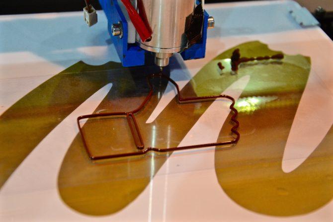 pouce chocolat 3D