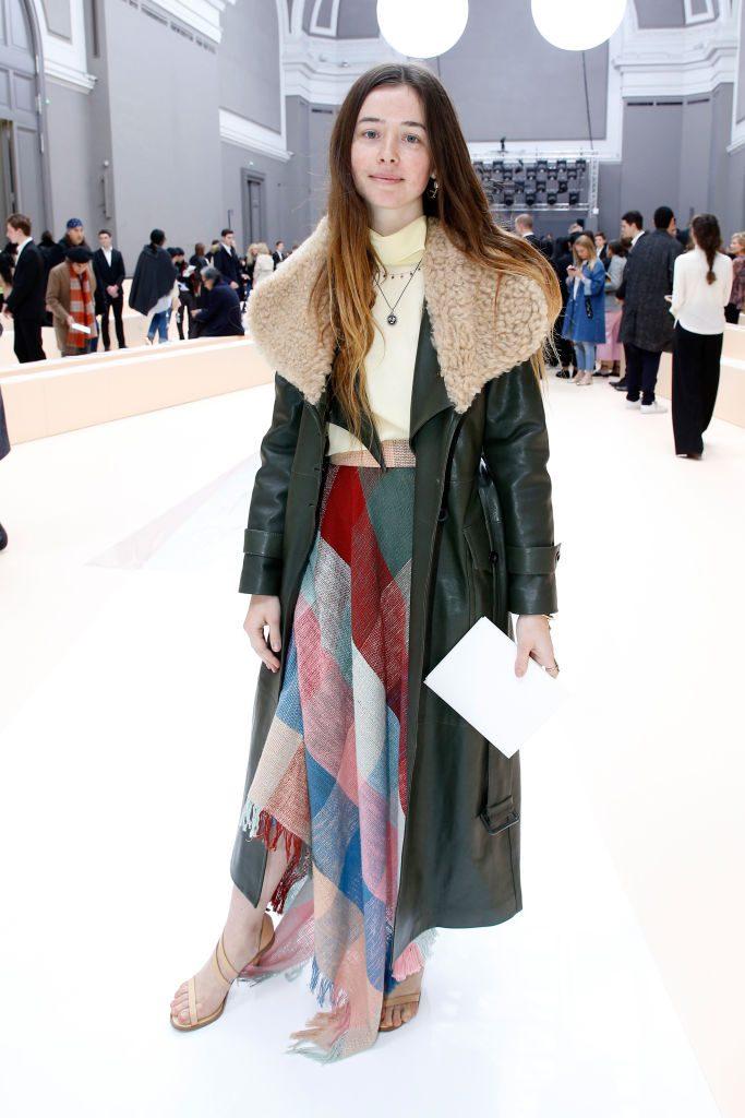 Chloe : Front Row  – Paris Fashion Week Womenswear Fall/Winter 2017/2018