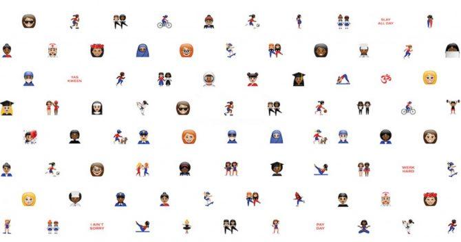 BUZZ: découvrez les 69 nouveaux emojis