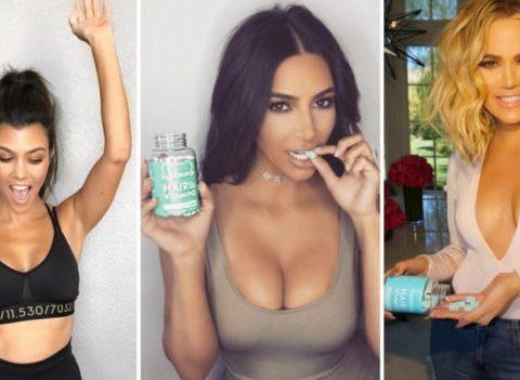 Que gagnent les soeurs Kardashian par post Instagram?