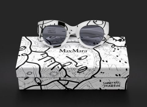 Max Mara X l'artiste Shantell Martin