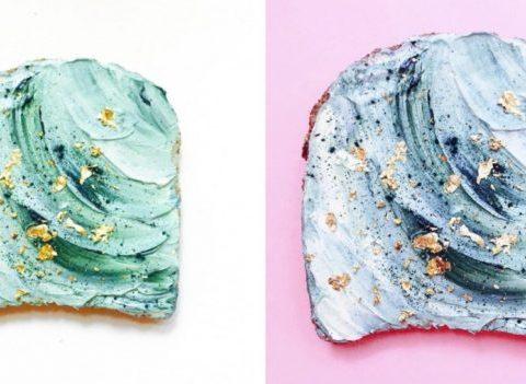 La recette magique du Mermaid Toast