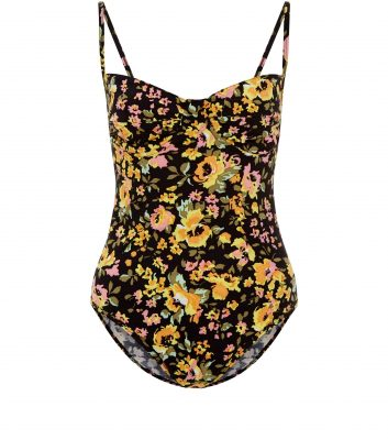 motel-black-floral-print-bodysuit-