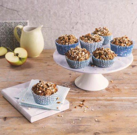 Muffins avoine-pomme