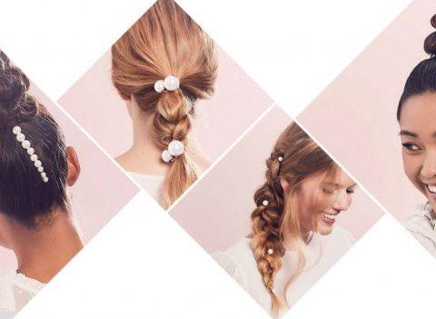 Tendance à suivre: des perles dans les cheveux