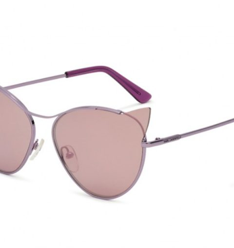 karl lagerfeld cr e des lunettes de soleil chat en hommage choupette. Black Bedroom Furniture Sets. Home Design Ideas