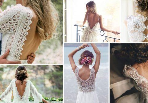 Les 20 robes de mariée avec les plus beaux décolletés dans le dos