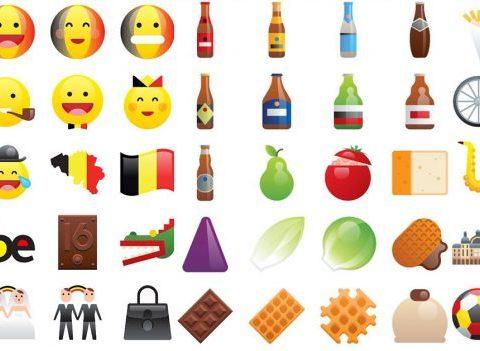 BUZZ: Enfin des emojis en l'honneur de la Belgique !