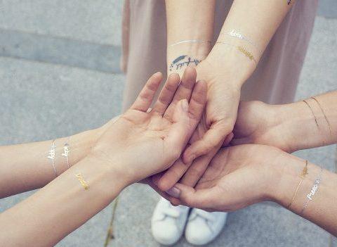 Théa Skin : la typo dans la peau