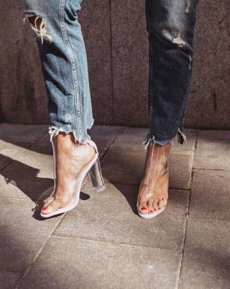 Comment porter les boots transparentes ? - 3
