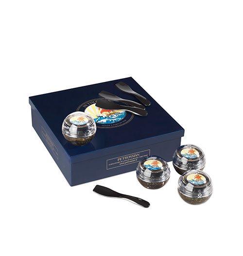 Coffret de caviar, Eggxiting, 125€