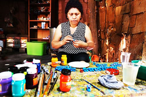 Le Mexicaba de Christian Louboutin brodé par les Mayas - 9