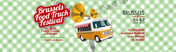 agenda du week-end : brussels food truck festival