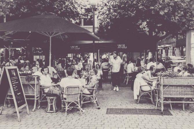 saga café