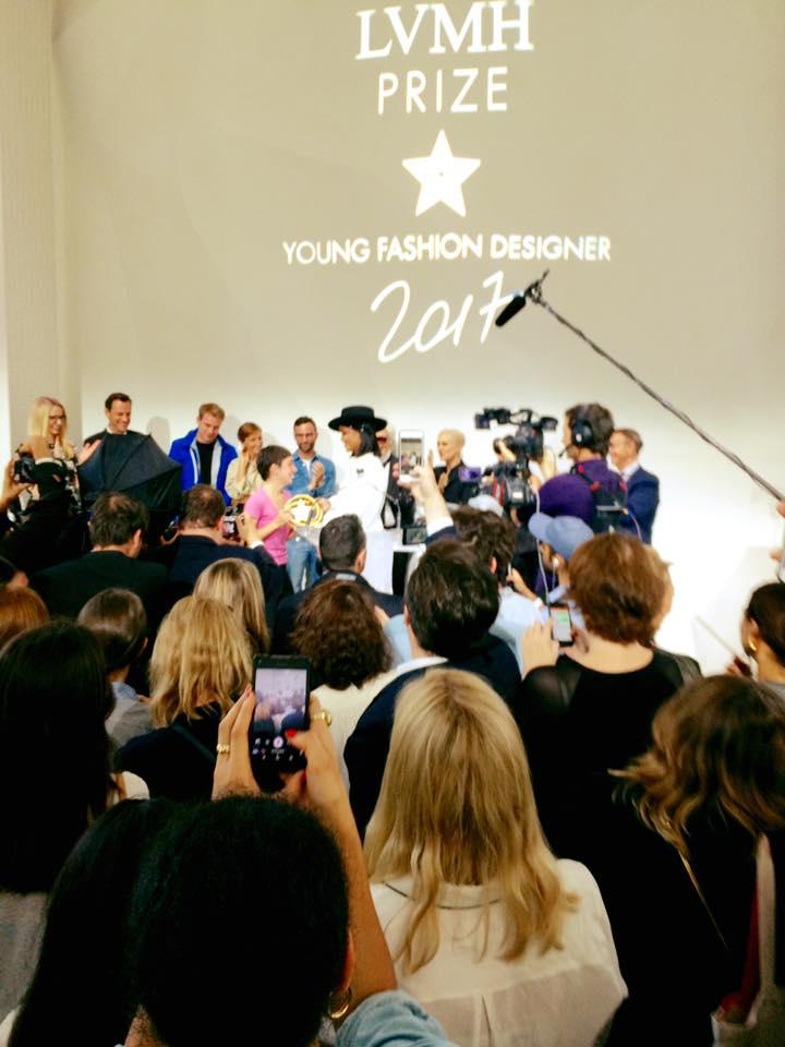 Marine Serre et Mariam Mazmishvili mettent La Cambre à l'honneur au Prix LVMH - 1