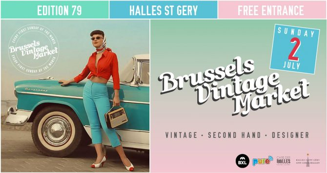 agenda du week-end : brussels vintage market